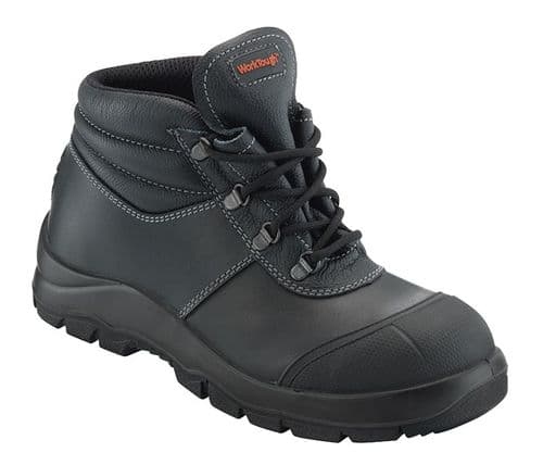 81SM Black Worktough Boot