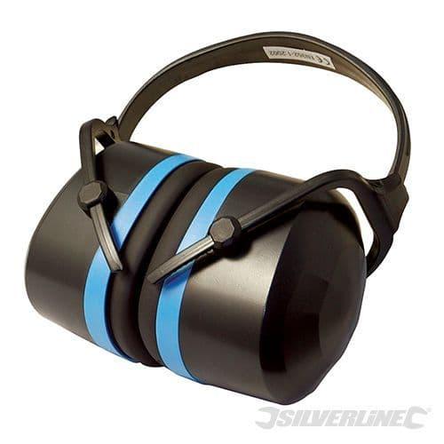 868768 Silverline Premium Folding Ear Defenders