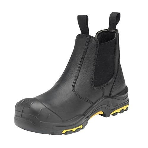 DEALER/B Black JCB Dealer Safety Boot