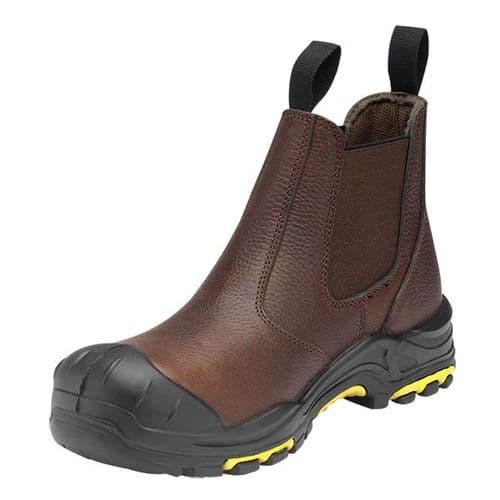 DEALER/T Brown JCB Dealer Safety Boot