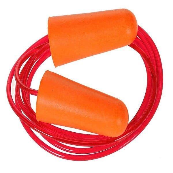 EP08 - Portwest Corded PU Foam Ear Plugs - 200 Pairs