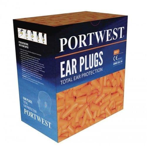 EP21 - Portwest Ear Plug Dispenser Refill Pack