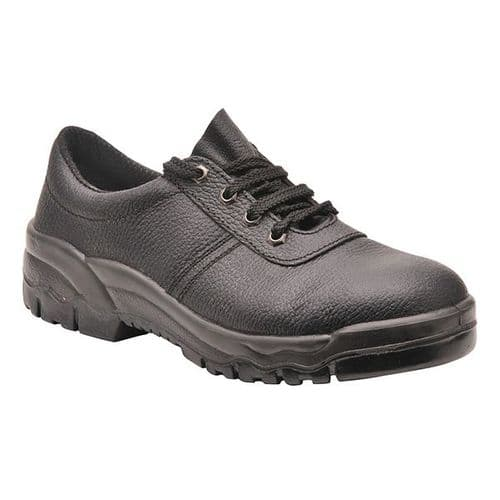 Portwest FW14 Black Steelite Protector Shoe S1P