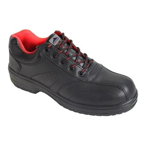 Portwest FW41 Black Steelite Ladies Safety Shoe S1
