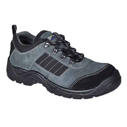 Portwest FW64 Black Steelite Trekker Shoe S1P