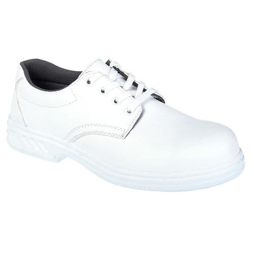 Portwest FW80WH White Steelite Laced Safety Shoe S2