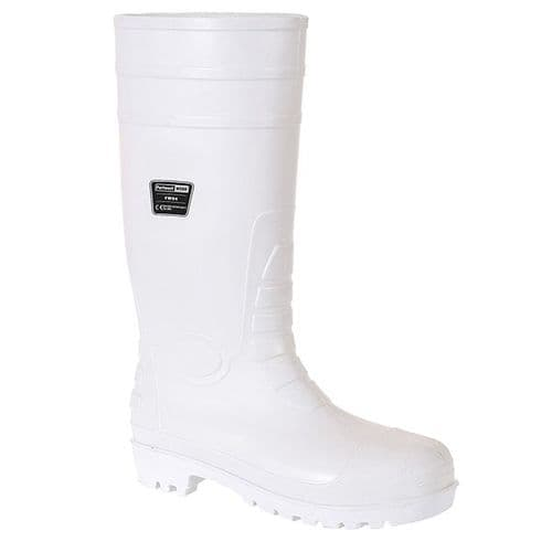 Portwest FW84 White Safety Food Wellington S4