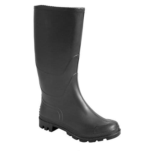 Portwest FW90B Black PVC Wellington 04