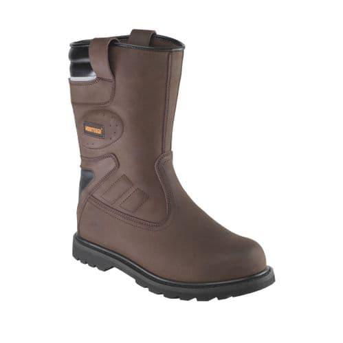 RIGGER/T Brown Worktough Rigger Boot