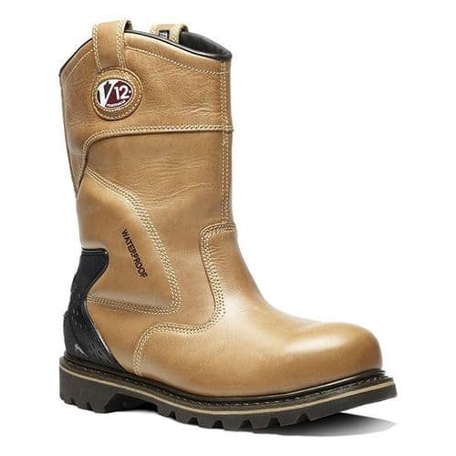 V1250 Brown Tomahawk Rigger Boot