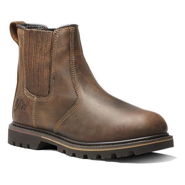 V1261 Brown Non-Safety Rancher Dealer Boot