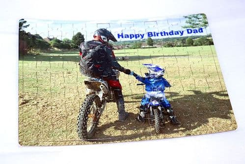 Personalised A4 120 Piece Photo Jigsaw