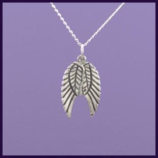 Angel wings, pair of moveable detailed on both sides