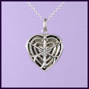 Arrow & Heart Locket