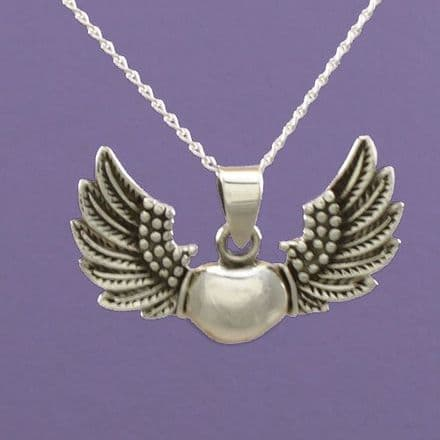 Heart and Angel Wings