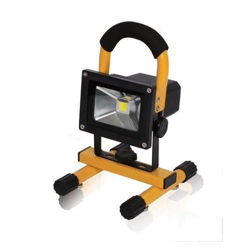 C.K 10W Rechargeable Flood Light Mains Charger