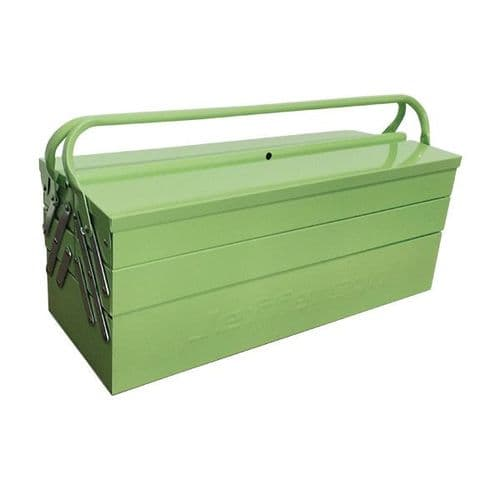 Jefferson 5 Tray Cantilever Tool Box - High Visibility