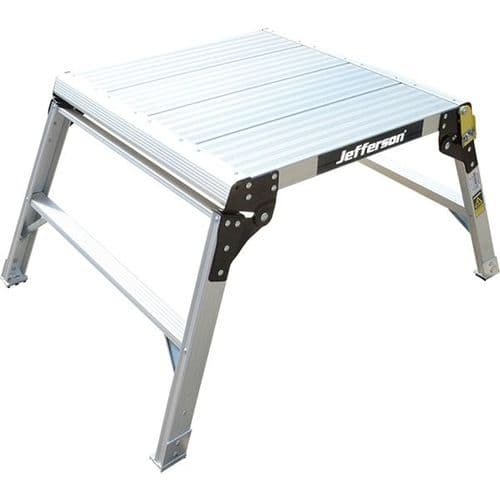 Jefferson 600mm Wide 2 Tread Aluminium Work Platform