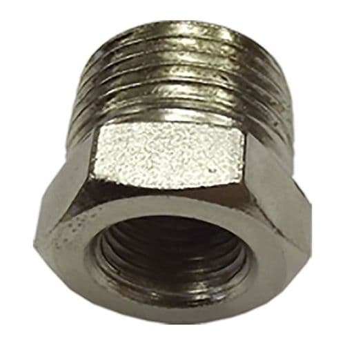 Jefferson Cylindrical Nipple 1/4'' Male To 1/4'' Male (2 Pack)