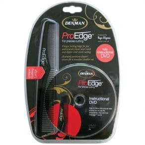 Denman ProEdge Cutting Comb With Ledge & DVD