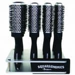 Denman Squargonomics 12 Piece Silver Display Stand