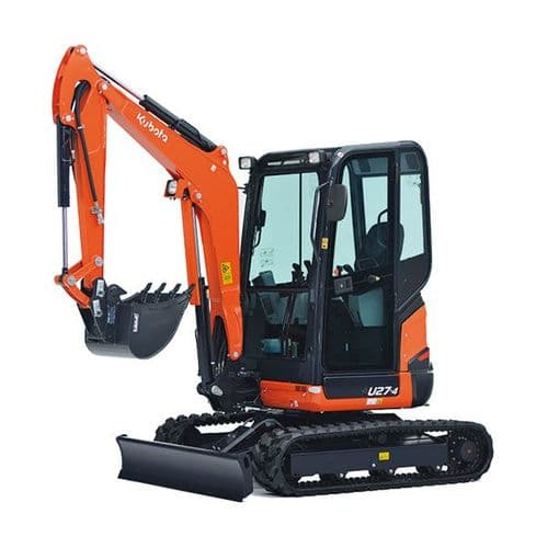 3 Tonne Mini Excavator Hire - Zero Tail Swing