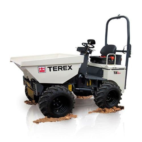 Mini Dumper Hire | Terex TA1EH 1 Tonne High Tip Dumper Hire