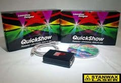Flashback3 QS with Lasershow designer Quickshow FB3QS