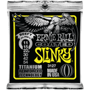 Ernie Ball Titanium Coated Beefy Slinky Electric Guitar Strings 011-054