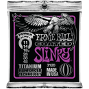Ernie Ball Titanium Coated Power Slinky Electric Guitar Strings 011-048