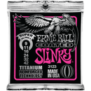 Ernie Ball Titanium Coated Super Slinky Electric Guitar Strings 009-042
