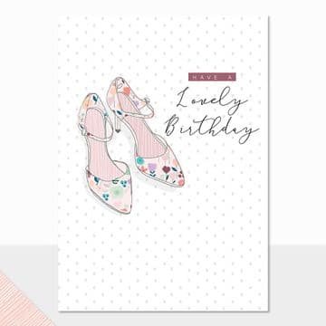 ALD - Happy Birthday Shoes Card