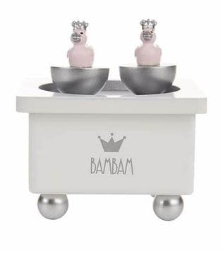 Bam Bam - Pink Ducks Musical Box