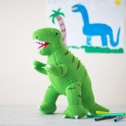 Best Years - BIG Green Knitted T-Rex