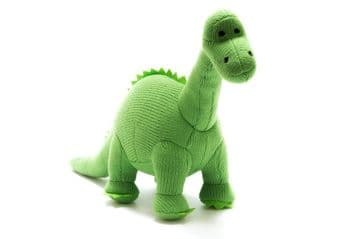 Best Years - Green Knitted Diplodocus