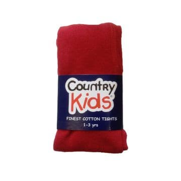 Country Kids - Ruby Red Tights