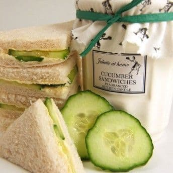 Juliette at Home Kitchen Larder Candle - Cucumber Sandwiches