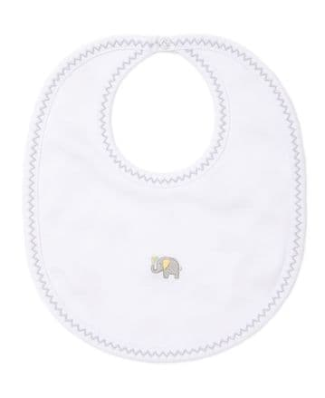 Kissy Kissy - Everyday Elephants  Reversible Bib