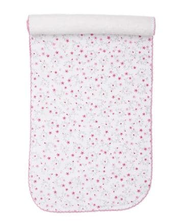 Kissy Kissy - Silver Stems Burpee Cloth