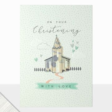 LD - On Your Christening Day Card