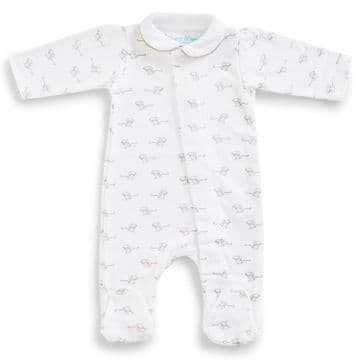 Magnet Mouse - Grey Mouse Cotton Babygrow