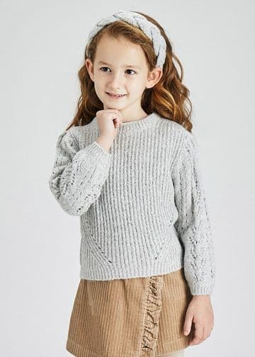 Mayoral -  Pearl Jumper with matching headband