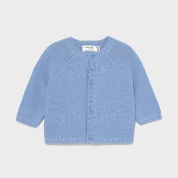 Mayoral - Sky Blue Knitted Cardigan
