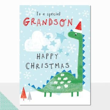 To a Special Grandson Happy Christmas