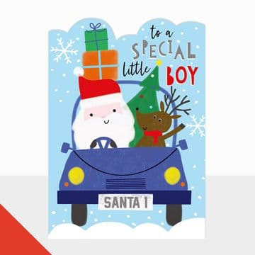 To a Special Little Boy Christmas Card