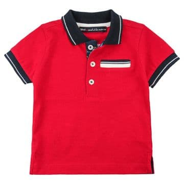 Weekend - Red NEON Polo Shirt