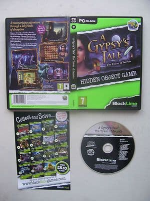A Gypsy's Tale The Tower of Secrets Hidden Object PC Game