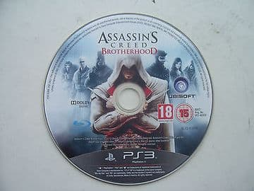 Assassins Creed Brotherhood PS3  Game Disc