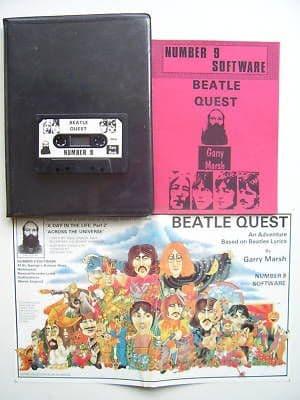 Beatle Quest Commodore 64 ULTRA .RARE Classic Game