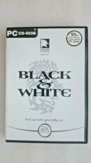Black and White PC Game Original Release